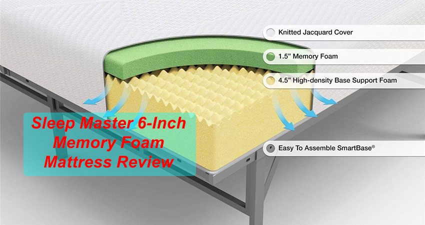 Sleep Master 6-Inch Memory Foam Mattress Review